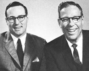 Ted with father M.J. Spiegel
