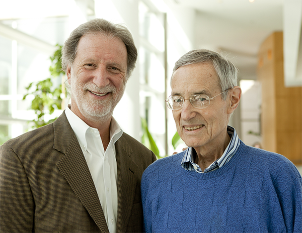 Executive Director Tom Collinger and Ted Spiegel