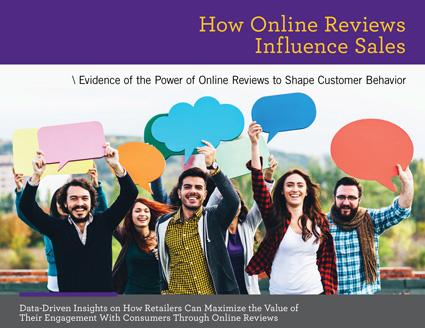 Report Cover How Online Reviews Influence Sales