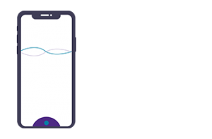 Illustration of a mobile phone